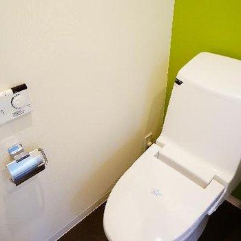 トイレにはウォシュレト付き!