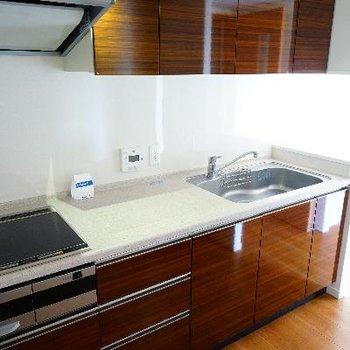 キッチンもゆったり贅沢空間♪