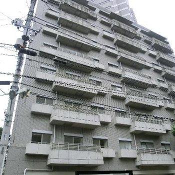 立派な建物。