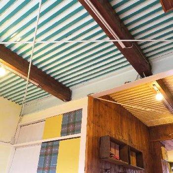 大胆な天井!※写真は前回掲載時のものです。