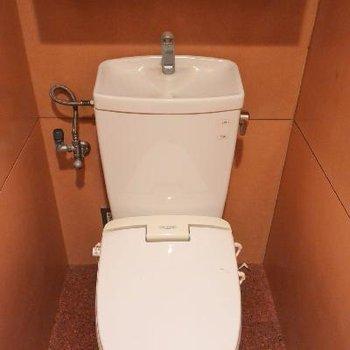 ちょこんとトイレ