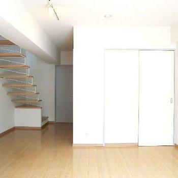 こちらは地下の寝室。※写真は前回募集時のものです
