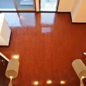 床色がとてもキレイ※写真は別部屋