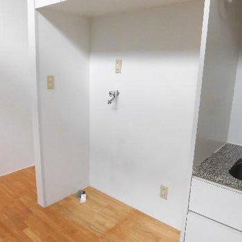 洗濯機と冷蔵庫はこぶりなやつで