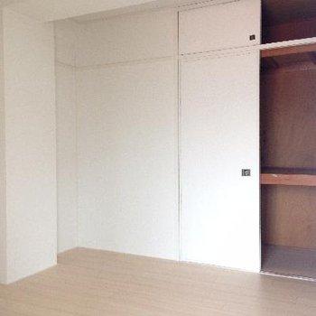 4.5帖のお部屋。窓なし。