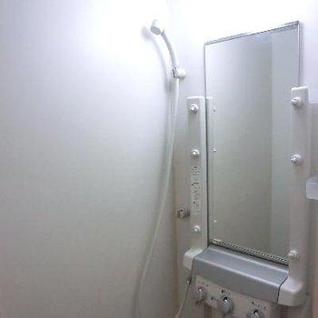 シャワーのみ。でもスチームサウナ付きです!