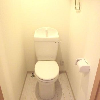 トイレは広かった。