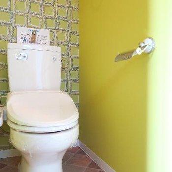 トイレだって期待を裏切りません。