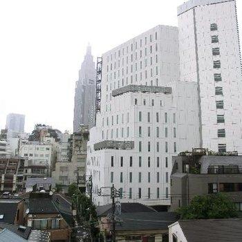 ほら、新宿のシンボルが見えますよ!