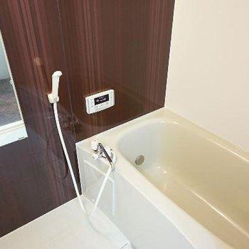 風呂には追い炊きも浴室乾燥機も付いています!