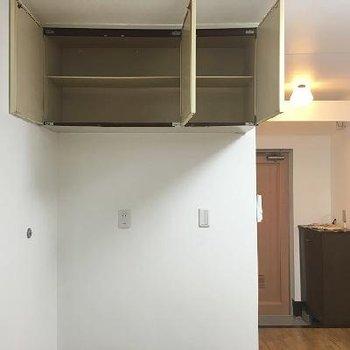 天井近くにちょっとした収納あり