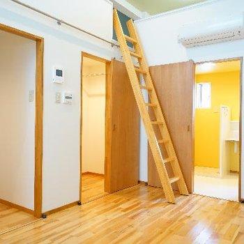 梯子は移動できます!※写真は前回募集時のものです