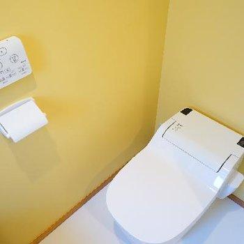 トイレはタンクレスでウォシュレットも♪※写真は前回募集時のものです