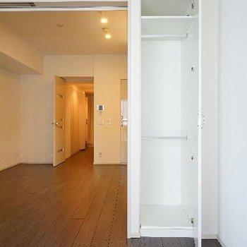 居室の収納はこちら。