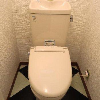 お手洗いはこちらです!