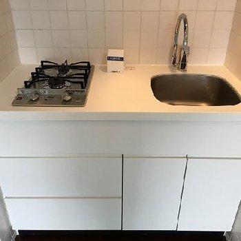 キッチンは2口ガスコンロです