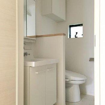 お風呂前の脱衣スペース