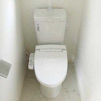 トイレは2階にもあるんです!
