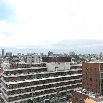 渋谷の喧騒から離れた眺望