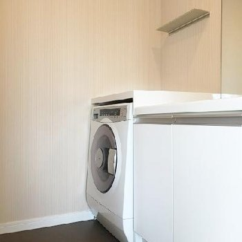 洗濯機付きです!