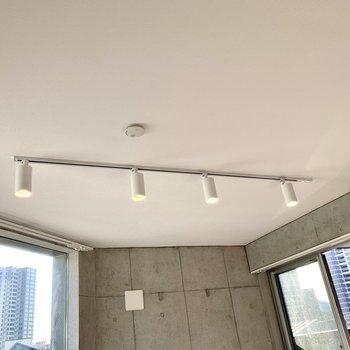 【LDK】お部屋を照らすのはライティングレール。
