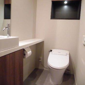 お店みたいなトイレ!