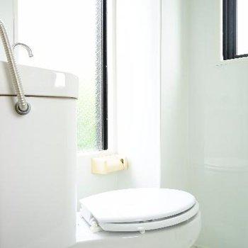 トイレ、やけに清々しいです。※写真は前回募集時のものです