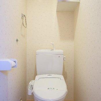 トイレにはウォシュレット付きで!
