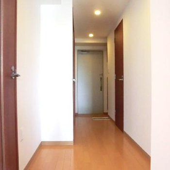広い間取りの廊下がお気に入り。