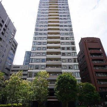 30階建ての高ーいマンション!