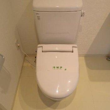 トイレはこちらですね。