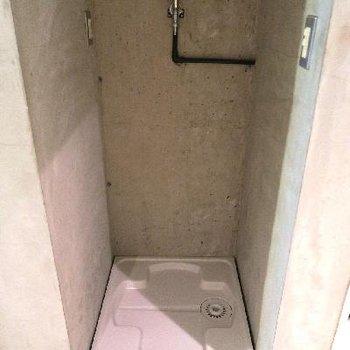 もちろん洗濯機置場もあります。※写真は前回掲載時のものです。