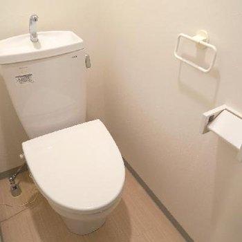 お手洗いはこちらですね。※写真は前回掲載時のものです。