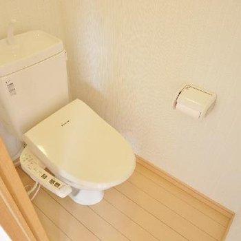 トイレは洗浄便座♪