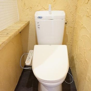 トイレにはウォシュレットを!