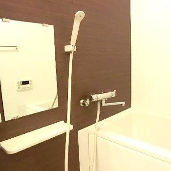 浴槽がちょっと狭かった。