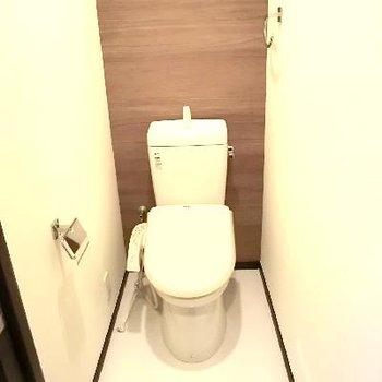 トイレは広いんです!