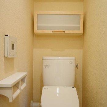 トイレも機能的です!
