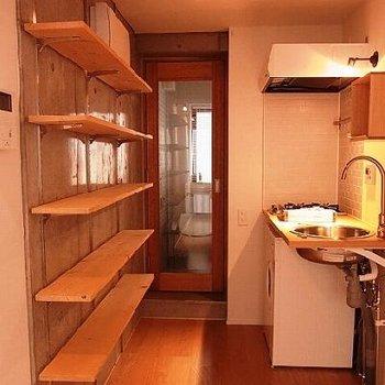 玄関やキッチン周り◎