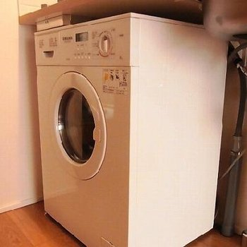 洗濯乾燥機付き
