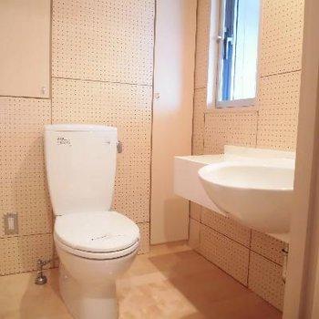 1階にトイレですね