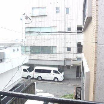 2階の眺望です。