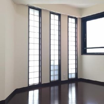 特徴的な窓!