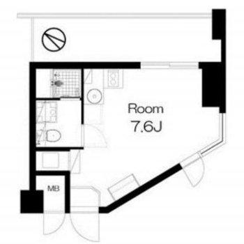 この形もこのお部屋に関しては重要なお洒落ポイントです。