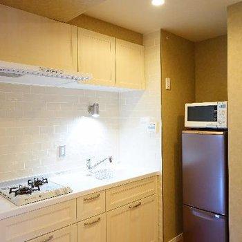 キッチンもかわいいデザイン♪