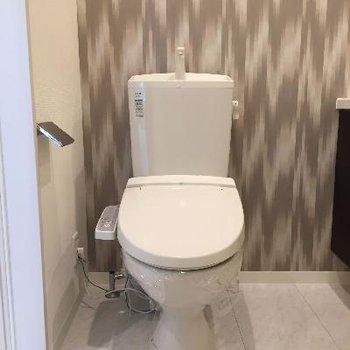 ころんとしたトイレ