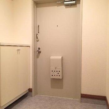 玄関もゆったり