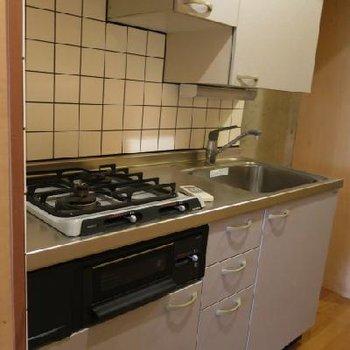 キッチンは二口!*お部屋は別部屋です