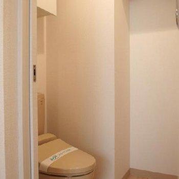 トイレの空間広々