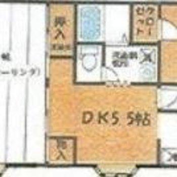 2LDK!12帖のお部屋がポイントです